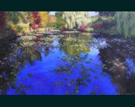Tending To The Lillies-Giverney II