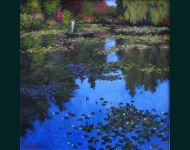 Tending to the Lillies-Giverney III