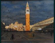 Piazza San marco-Evening Shadows