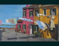 Hanging Washing-Burano